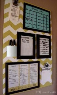 Efficient Dorm Room Organization Decor Ideas 38