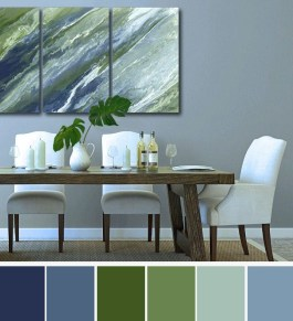 Elegant Blue Office Decor Ideas 35