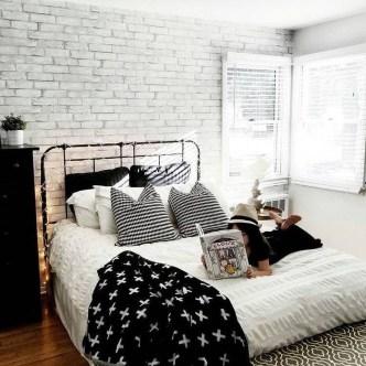 Elegant Exposed Brick Apartment Décor Ideas 16