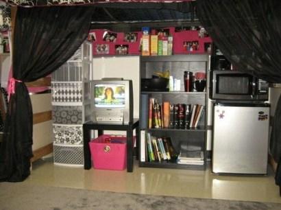 Genius Dorm Room Space Saving Storage Ideas 03