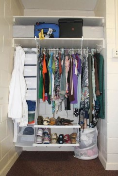 Genius Dorm Room Space Saving Storage Ideas 11