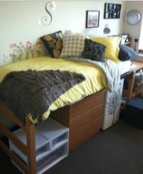 Genius Dorm Room Space Saving Storage Ideas 22