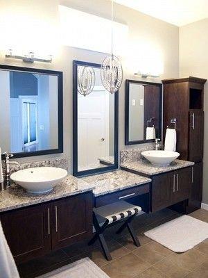 Gorgeous Bathroom Vanity Mirror Design Ideas 10