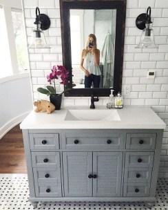 Gorgeous Bathroom Vanity Mirror Design Ideas 23