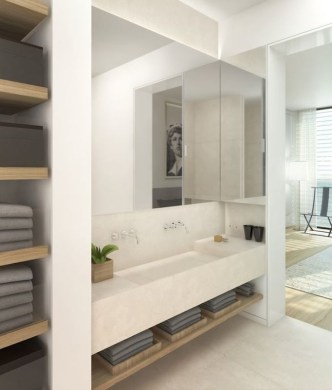 Gorgeous Bathroom Vanity Mirror Design Ideas 40
