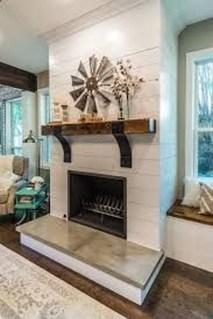 Inspiring Corner Fireplace Ideas In The Living Room 04