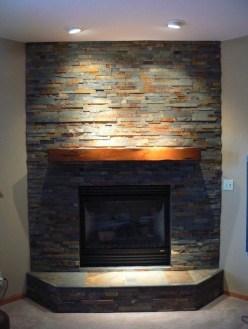 Inspiring Corner Fireplace Ideas In The Living Room 32