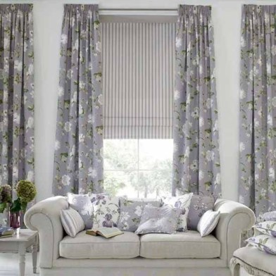 Modern Curtain Designs For Living Room 17