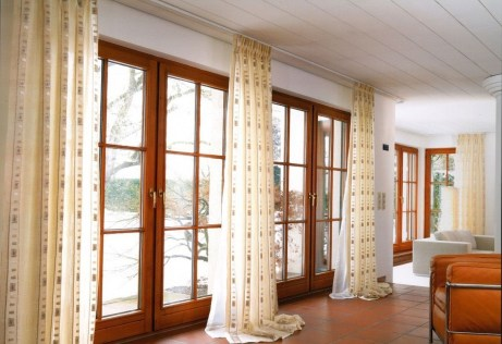 Modern Curtain Designs For Living Room 29