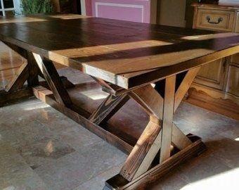 Modern Diy Wooden Dining Tables Ideas 17