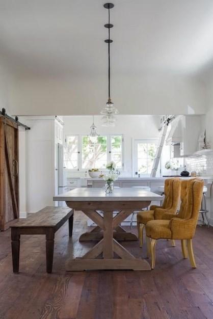 Modern Diy Wooden Dining Tables Ideas 27