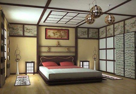 Modern But Simple Japanese Styled Bedroom Design Ideas 01
