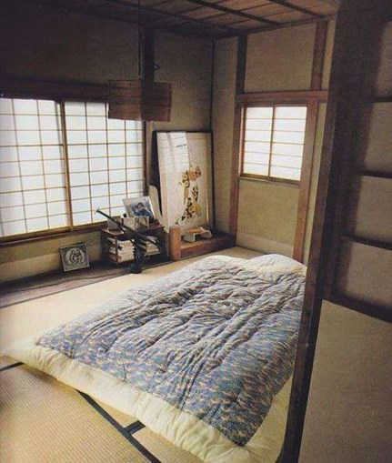 Modern But Simple Japanese Styled Bedroom Design Ideas 04