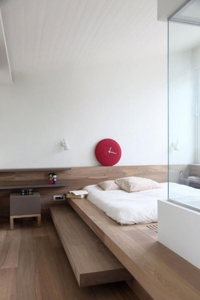 Modern But Simple Japanese Styled Bedroom Design Ideas 22