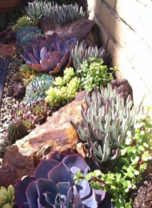 RSimple Rock Garden Decor Ideas For Front And Back Yard 20