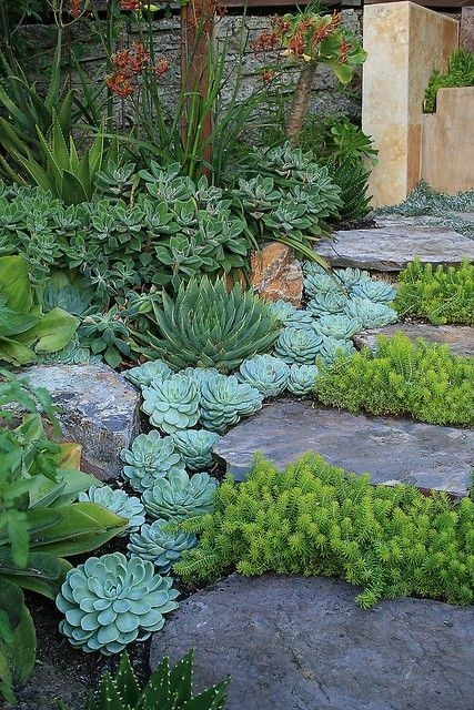 RSimple Rock Garden Decor Ideas For Front And Back Yard 25