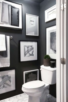 Relaxing Black And White Apartment Décor Ideas 20