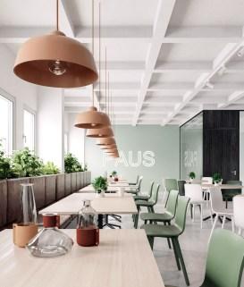 Relaxing Green Office Décor Ideas 08