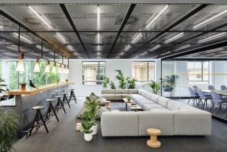 Relaxing Green Office Décor Ideas 14