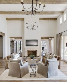 Totally Inspiring Modern Farmhouse Living Room Design Ideas 09
