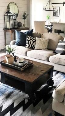 Totally Inspiring Modern Farmhouse Living Room Design Ideas 17