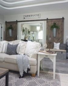 Totally Inspiring Modern Farmhouse Living Room Design Ideas 20