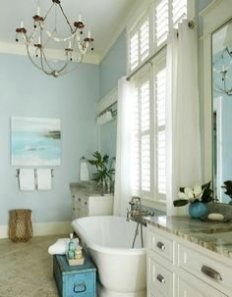 Awesome Bathroom Decor Ideas With Coastal Style 02