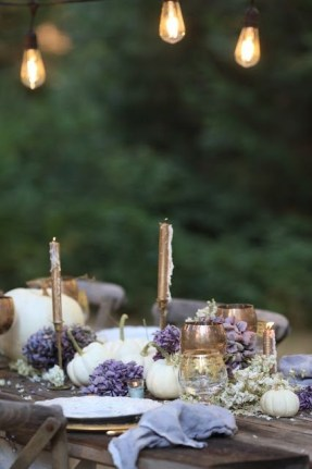 Awesome French Farmhouse Fall Table Design 08
