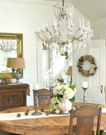 Awesome French Farmhouse Fall Table Design 09