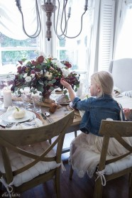 Awesome French Farmhouse Fall Table Design 28
