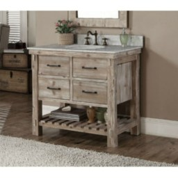 Awesome Rustic Farmhouse Vanities Ideas 04