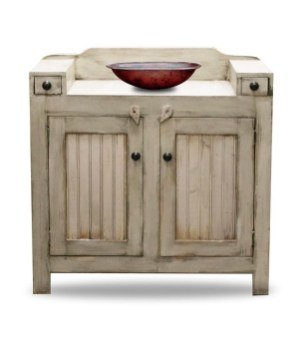 Awesome Rustic Farmhouse Vanities Ideas 24