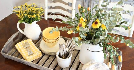 Comfy And Casual Farmhouse Home Design Ideas 36