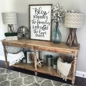 Comfy Rustic Living Room Decor Ideas 13