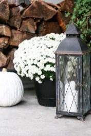 Cozy Fall Porch Farmhouse Style 20