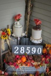 Cozy Fall Porch Farmhouse Style 30