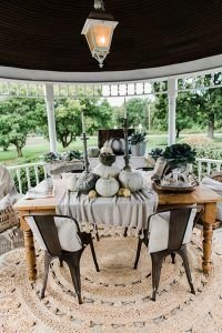 Cozy Fall Porch Farmhouse Style 39