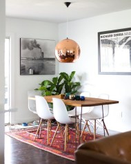 Creative Dining Room Rug Design Ideas 02