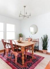 Creative Dining Room Rug Design Ideas 18