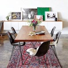 Creative Dining Room Rug Design Ideas 20