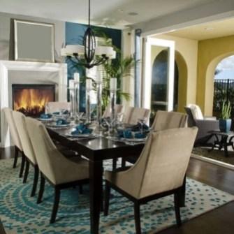 Creative Dining Room Rug Design Ideas 33
