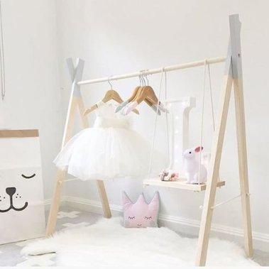 Easy And Practical Clothing Racks For Casual Décor Ideas 16