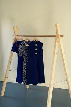 Easy And Practical Clothing Racks For Casual Décor Ideas 27