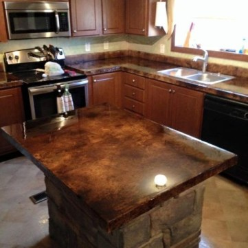 Fascinating Kitchen Countertops Ideas For Any Home 22
