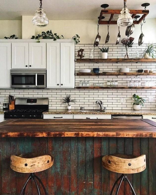 Inspiring Bohemian Style Kitchen Decor Ideas 16