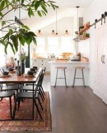 Inspiring Bohemian Style Kitchen Decor Ideas 19