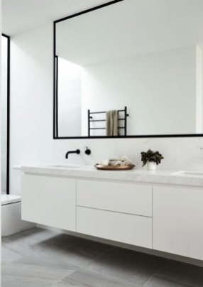 Luxury Black And White Bathroom Design Ideas 19