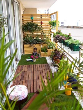 Perfect Small Balcony Design Ideas 46