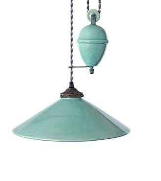 Pretty Aqua Pendant Lamp Ideas 02