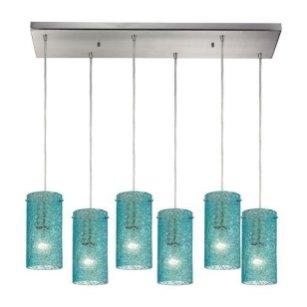 Pretty Aqua Pendant Lamp Ideas 06